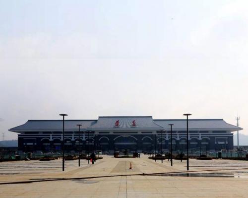 贵州遵义市高铁站