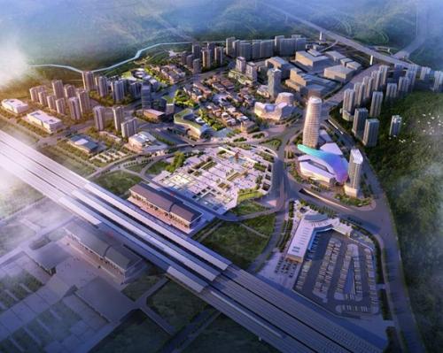 贵州遵义市高铁新城