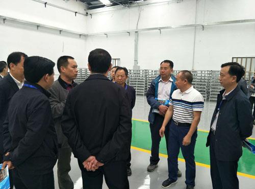 播州区政协主席会议成员到公司视察工作