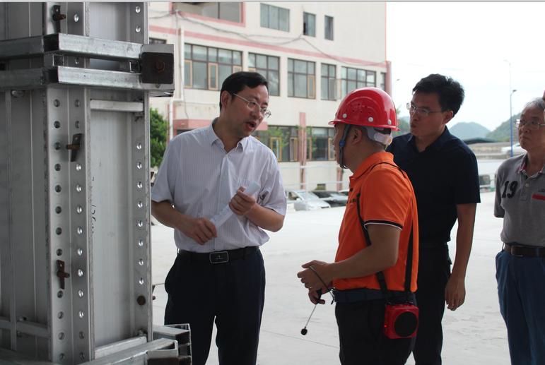 播州区区委书记陈松一行莅临贵州正合铝业集团开展调研工作