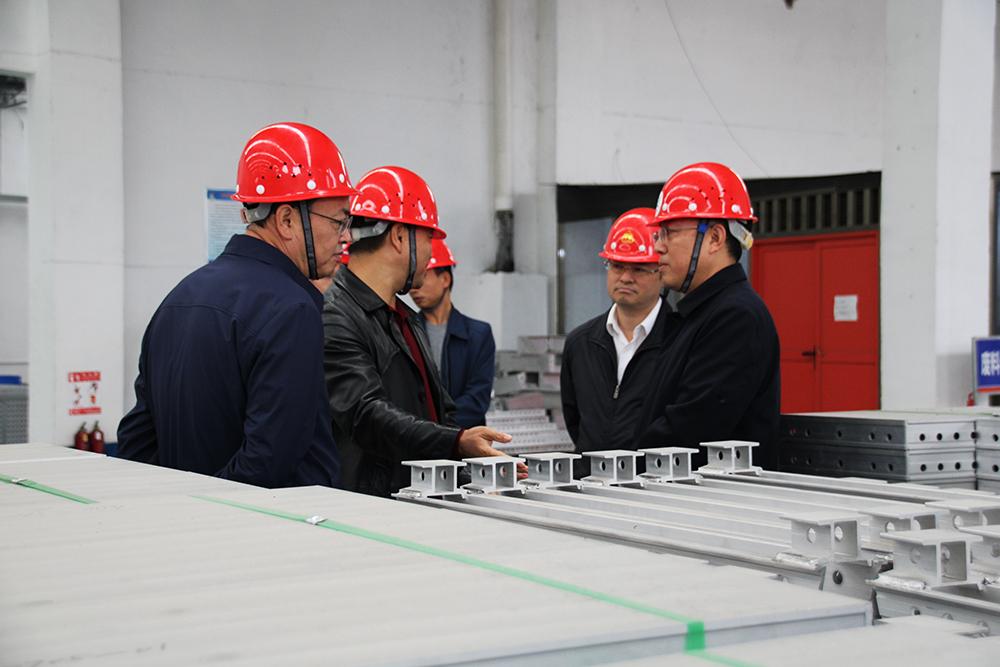 播州区委领导莅临正合铝业调研考察