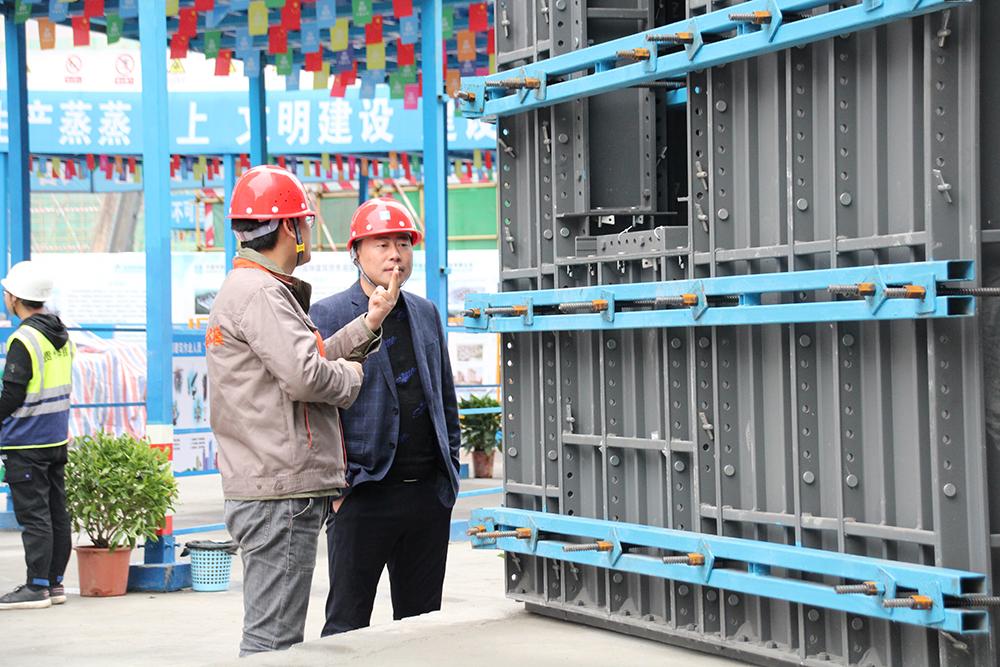 """贵州正合铝业集团参展""""贵州省铝模施工观摩会"""""""